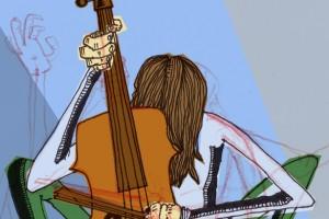 cello-blue